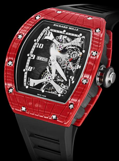 Richard Mille Replica Watch RM 014 TOURBILLON JAPAN RED